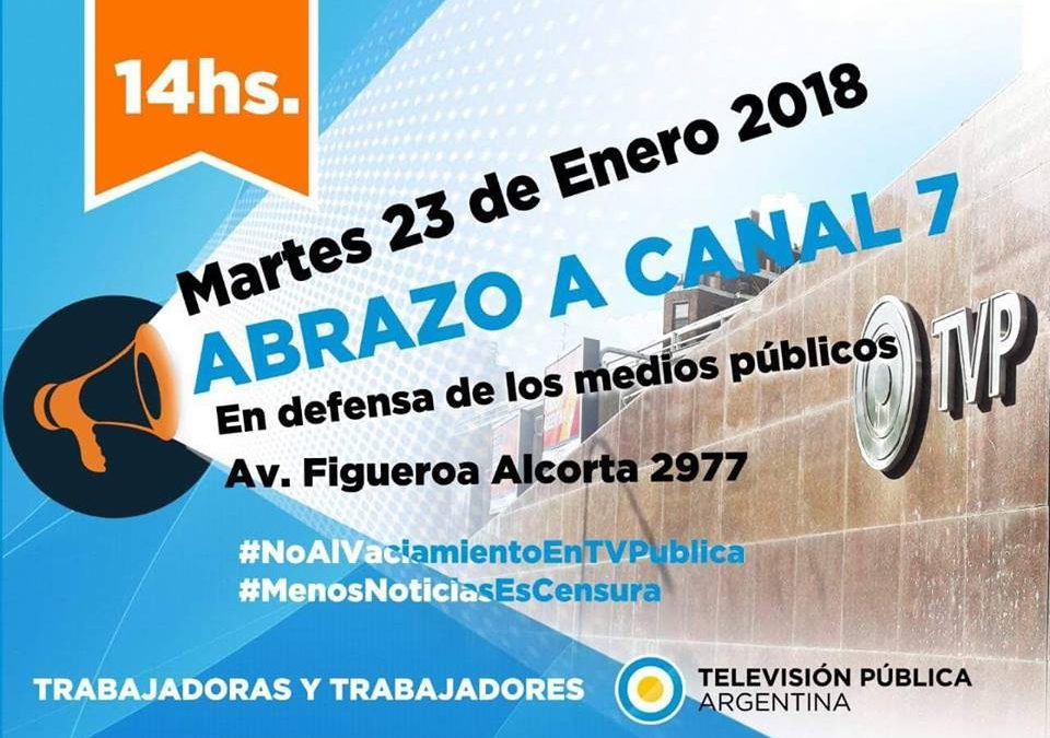 ABRAZO A CANAL 7